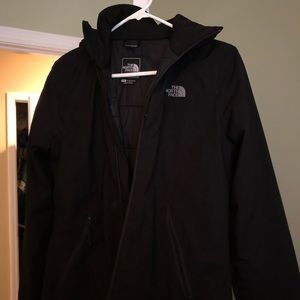 North face coat!!